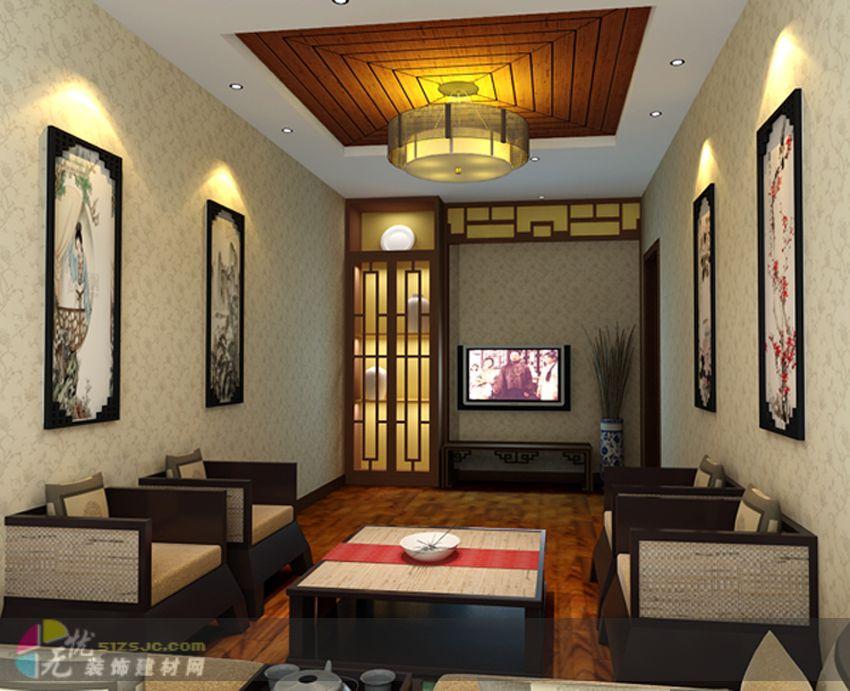 茶庄 鲁宁装饰作品 家居设计图库 效果图,实景图,样板间,建筑设
